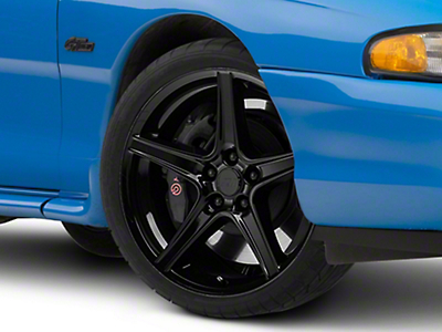 Black Saleen Style Wheel 19x8.5 (94-04 All)