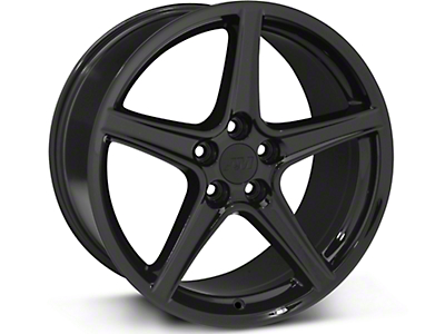 Saleen Style Black Wheel - 19x10 (05-14 GT, V6)