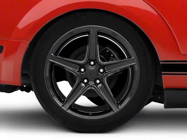 Saleen Style Black Wheel - 19x10 (05-14 GT, V6)