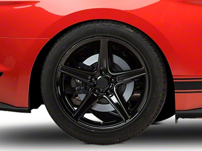 Saleen Style Black Wheel - 19x10 (2015 V6, EcoBoost)