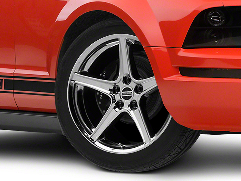Saleen Style Chrome Wheel - 19x8.5 (05-14 GT, V6)