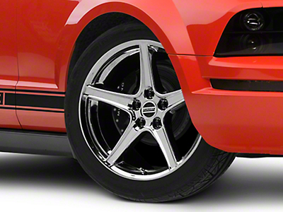 Saleen Chrome Wheel - 19x8.5 (05-14 GT, V6)