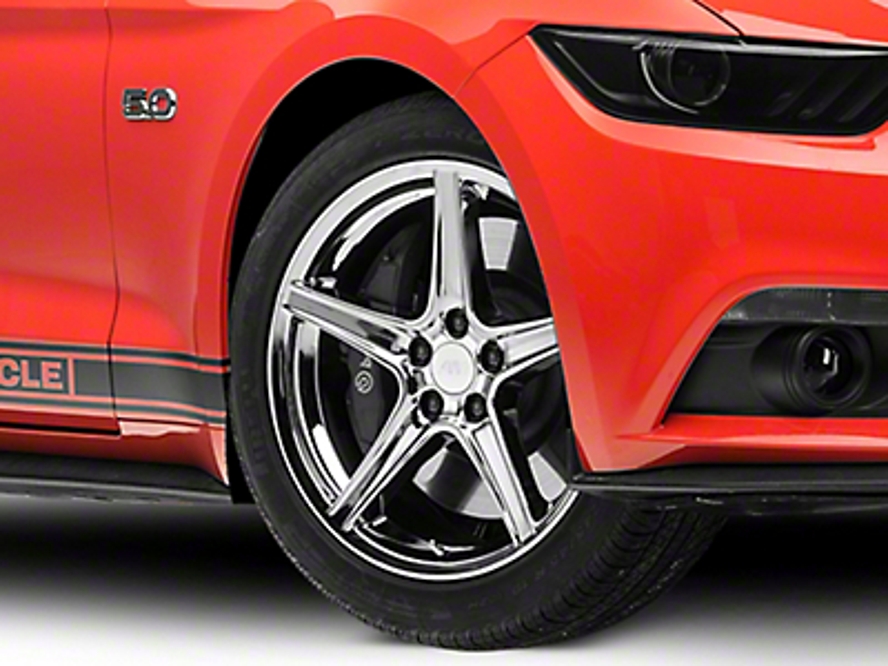 Saleen Style Chrome Wheel - 19x8.5 (15-16 V6, EcoBoost)