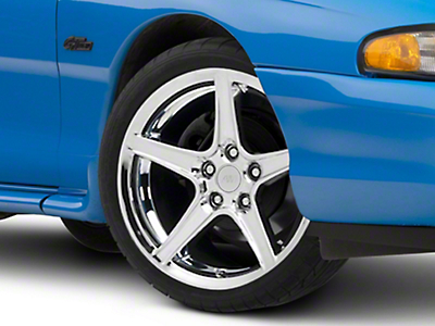 Chrome Saleen Style Wheel 19x8.5 (94-04 All)
