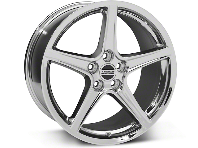 Saleen Style Chrome Wheel - 19x10 (05-14 GT, V6)