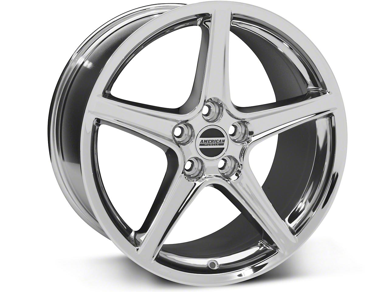 Saleen Style Chrome Wheel - 19x10 (15-16 V6, EcoBoost)
