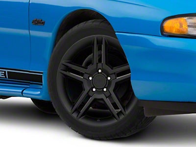 Matte Black 2010 Style GT500 Wheel - 18x9 (94-04 All)