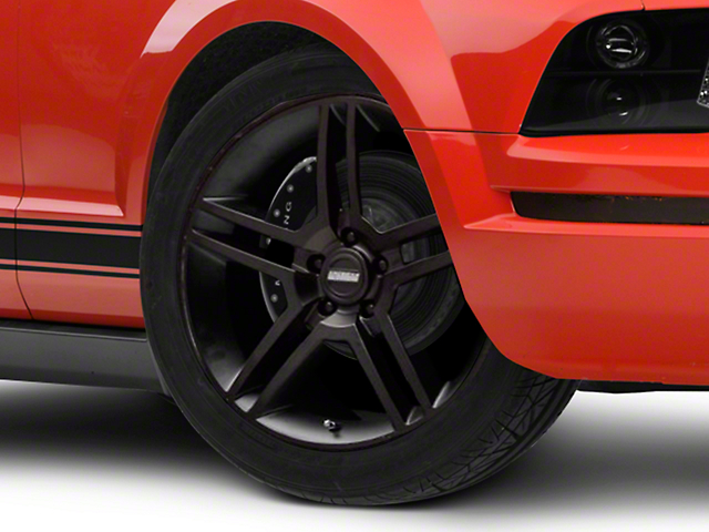 2010 GT500 Style Matte Black Wheel - 19x8.5 (05-14 All)