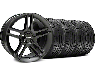 2010 GT500 Matte Black Wheel & Sumitomo Tire Kit - 18x9 (05-14 All)