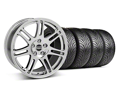 10th Anniversary Cobra Style Chrome Wheel & Sumitomo Tire Kit - 18x9 (05-14 All)