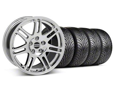 Staggered 10th Anniversary Cobra Style Chrome Wheel & Sumitomo Tire Kit - 18x9/10 (05-14 All)