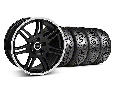 Black 10th Anniversary Style Wheel & Sumitomo Tire Kit - 18x9 (94-98 All)