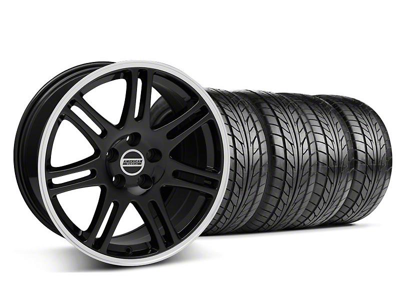 10th Anniversary Cobra Style Black Wheel & NITTO Tire Kit - 18x9 (94-98 All)