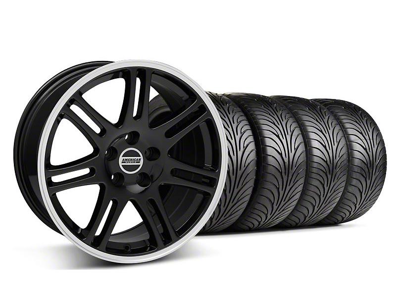 10th Anniversary Cobra Black Wheel & Sumitomo Tire Kit - 18x9 (05-14 All)