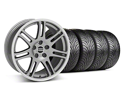 10th Anniversary Cobra Anthracite Wheel & Sumitomo Tire Kit - 18x9 (94-98 All)