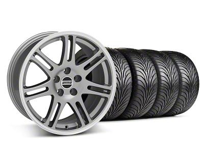 10th Anniversary Cobra Style Anthracite Wheel & Sumitomo Tire Kit - 18x9 (05-14 All)
