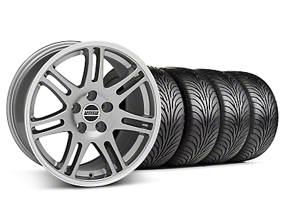 Staggered 10th Anniversary Cobra Anthracite Wheel & Sumitomo Tire Kit - 18x9/10 (94-98 All)