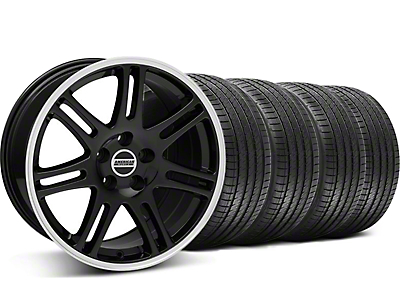 10th Anniversary Cobra Black Wheel & Sumitomo Tire Kit - 17x9 (94-98 All)
