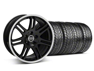 10th Anniversary Cobra Style Black Wheel & NITTO Tire Kit - 17x9 (94-98 All)