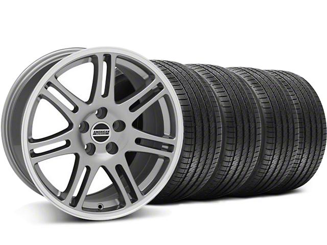 10th Anniversary Cobra Style Anthracite Wheel & Sumitomo Tire Kit - 17x9 (94-98 All)