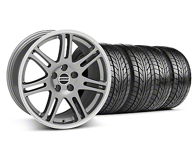 10th Anniversary Cobra Anthracite Wheel & NITTO Tire Kit - 17x9 (05-14 All)