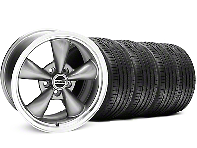 Bullitt Anthracite Wheel & Sumitomo Tire Kit - 17x8 (94-04)