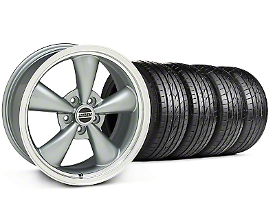 Bullitt Anthracite Wheel & Sumitomo Tire Kit - 17x8 (05-14 V6; 05-10 GT, Excluding GT500)