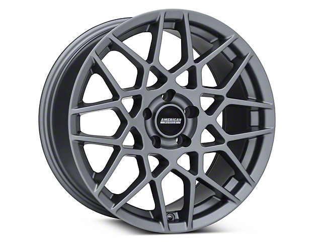 2013 GT500 Style Charcoal Wheel - 18x9 (05-14 All)