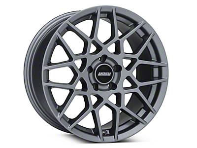 Charcoal 2013 Style GT500 Wheel - 18x9 (94-04 All)