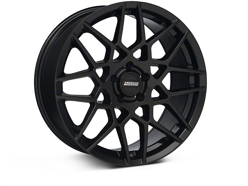 2013 GT500 Style Gloss Black Wheel - 19x8.5 (05-14 GT, V6)