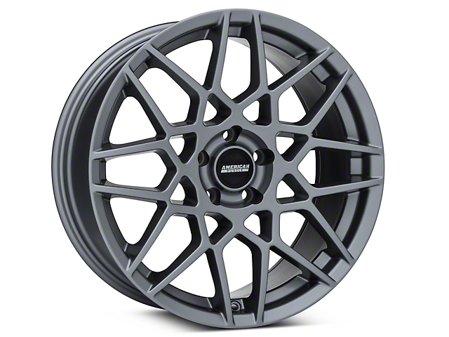 2013 GT500 Style Charcoal Wheel - 19x8.5 (05-14 GT, V6)