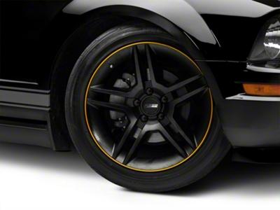 WheelBands Kit - Black w/ Yellow Insert (79-14 All)