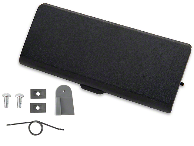 Ash Tray Door and Repair Kit - Black (87-93 All)