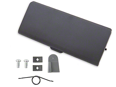 Ash Tray Door and Repair Kit - Smoke Gray (87-93 All)