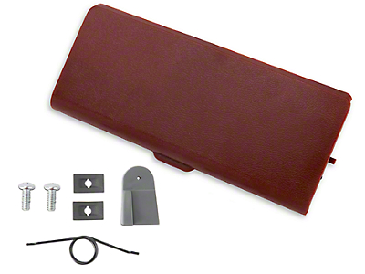 Ash Tray Door and Repair Kit - Red (87-93 All)