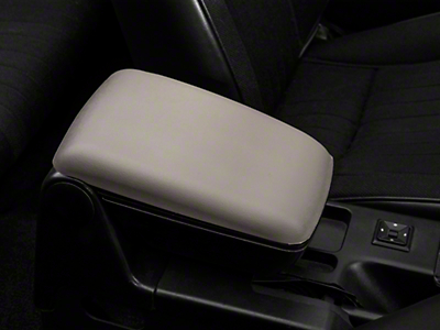 Center Console Arm Rest Kit - Titanium Gray (87-93 All)
