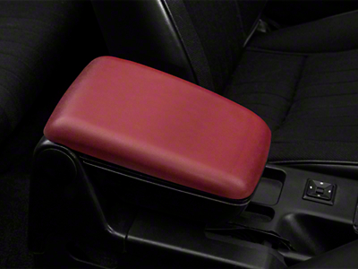 Center Console Arm Rest Kit - Red (87-93 All)