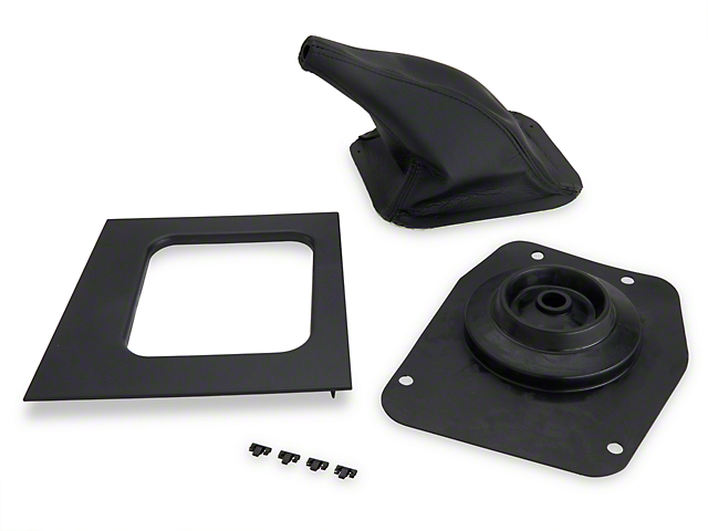 Shifter Boot and Bezel Kit - Manual (87-93 All)