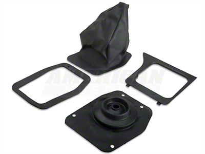 Shifter Boot and Bezel Kit - Manual (79-86 All)