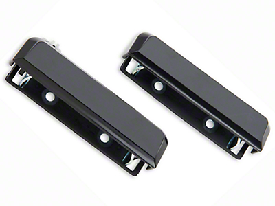 Outer Door Handle Resto Kit - Black (79-93 All)
