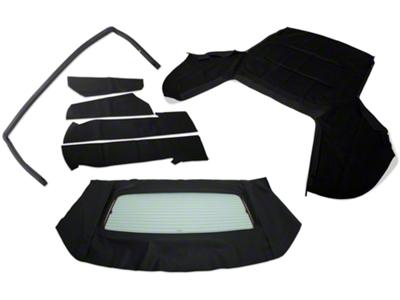 Convertible Top Resto Kit - Black (85-90 All)