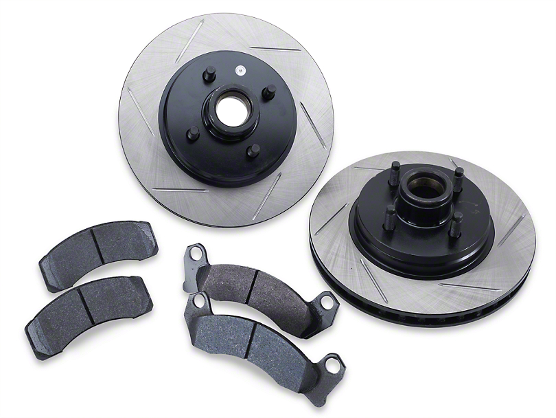 Performance Brake Rotor and Pad Kit - Front (87-93 5.0L)