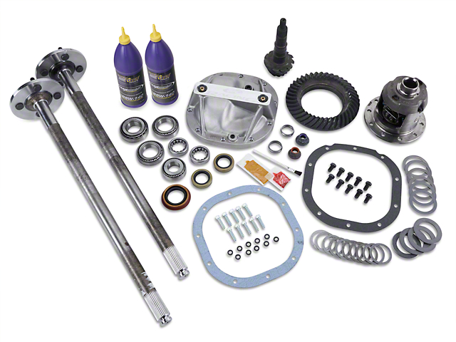 8.8 in. 31 Spline Axle and 3.73 Gear Upgrade Kit - 4 Lug (86-93 5.0L)