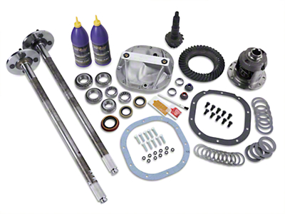 8.8in 31 Spline Axle and 4.10 Gear Upgrade Kit - 4 Lug (86-93 5.0L)