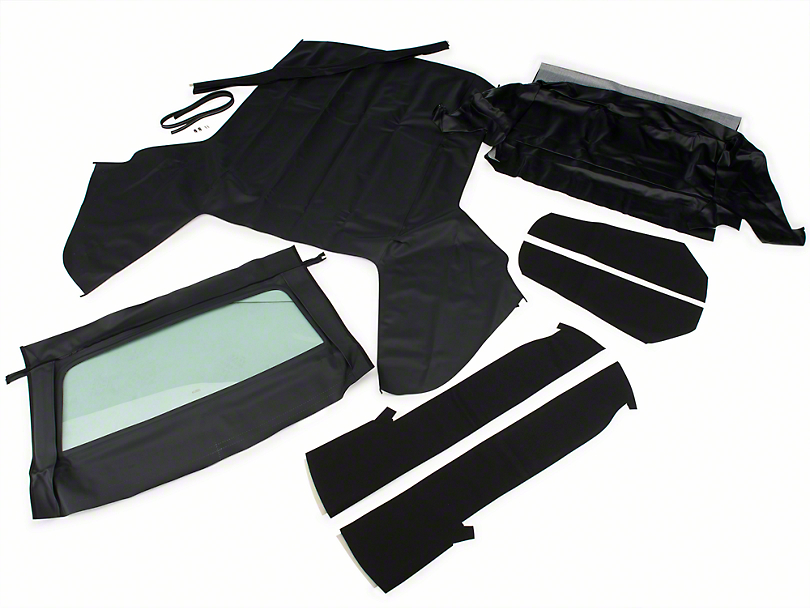 Convertible Top Kit - Black (83-90 All)