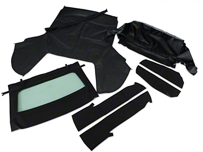 Convertible Top Kit - Black (91-93 All)