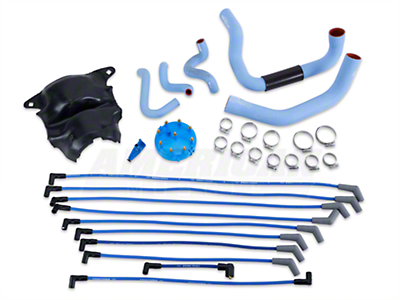 Ford Racing Blue Underhood Restoration Kit (87-93 5.0L)