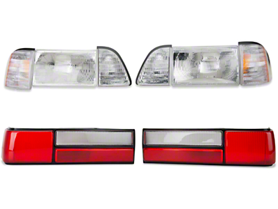 Headlight and Tail Light Kit (87-93 LX)