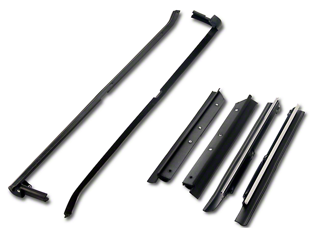 Outer Door And Quarter Window Belt Weatherstrip Kit - Convertible (87-93 All)