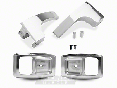 Billet Interior Door Handle And Bezel kit (79-93 All)